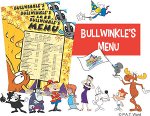 Tukwila Family Fun Center - Bullwinkle's Menu