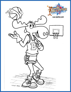 Bullwinkle Coloring Sheet